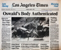 Oswald Exhumed Los Angeles Times
