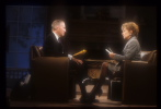Ross Perot with Barbara Walters
